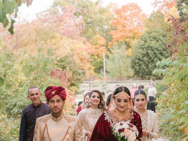 Zohra and Hamza's wedding in Markham, Ontario 9