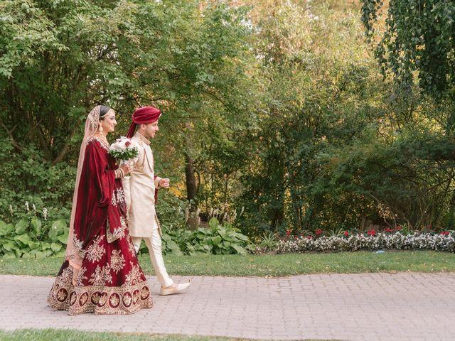 Zohra and Hamza's wedding in Markham, Ontario 10
