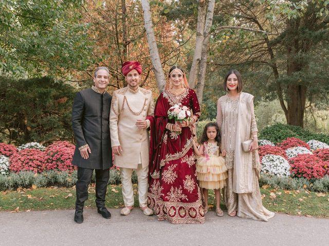 Zohra and Hamza's wedding in Markham, Ontario 11