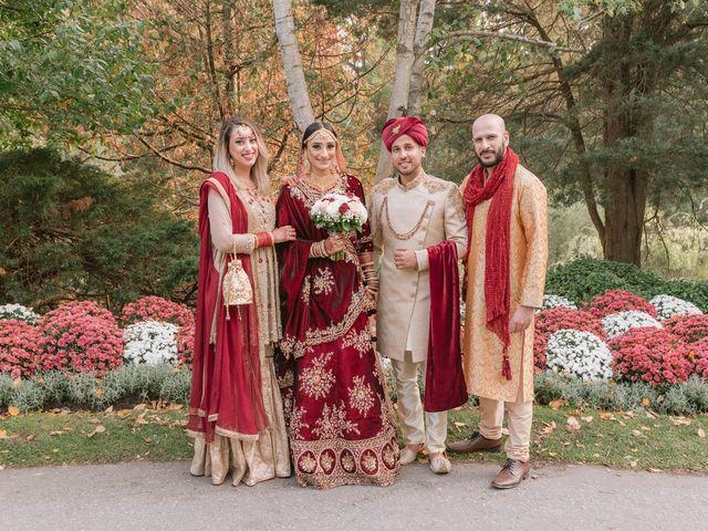 Zohra and Hamza's wedding in Markham, Ontario 12