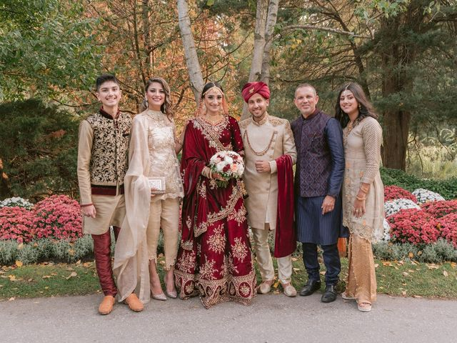 Zohra and Hamza's wedding in Markham, Ontario 13