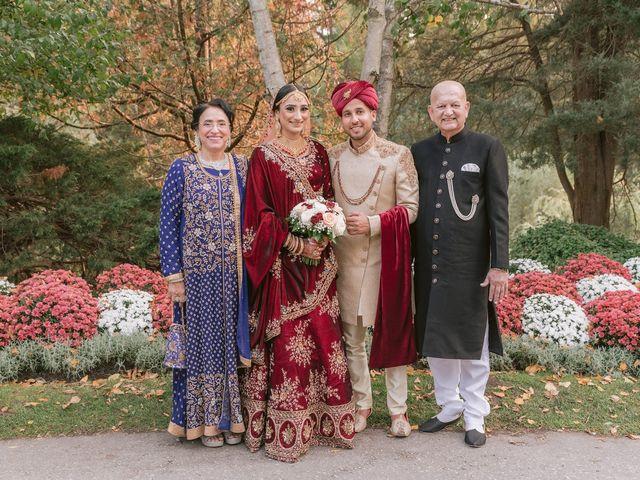 Zohra and Hamza's wedding in Markham, Ontario 14