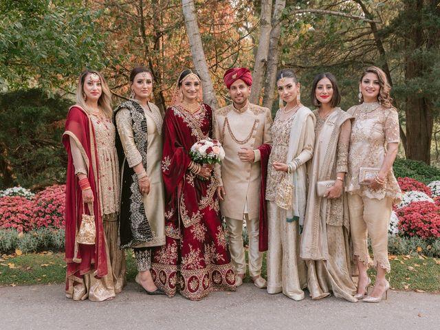 Zohra and Hamza's wedding in Markham, Ontario 15