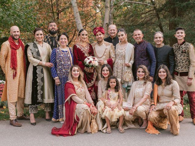 Zohra and Hamza's wedding in Markham, Ontario 16