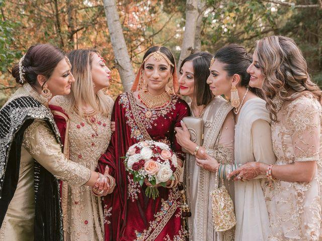 Zohra and Hamza's wedding in Markham, Ontario 17