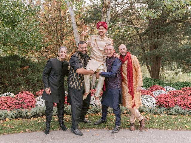 Zohra and Hamza's wedding in Markham, Ontario 18