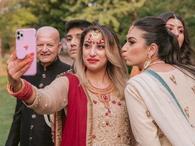 Zohra and Hamza's wedding in Markham, Ontario 19