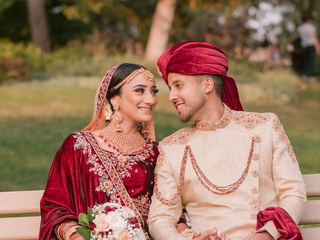 Zohra and Hamza's wedding in Markham, Ontario 20