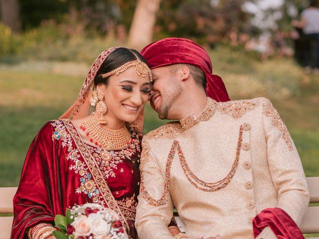 Zohra and Hamza's wedding in Markham, Ontario 21