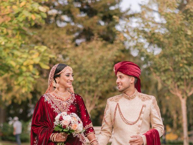 Zohra and Hamza's wedding in Markham, Ontario 23