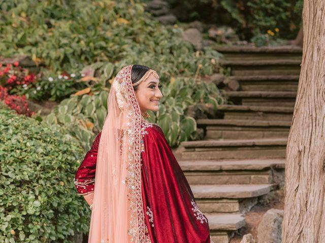 Zohra and Hamza's wedding in Markham, Ontario 25
