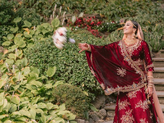 Zohra and Hamza's wedding in Markham, Ontario 26