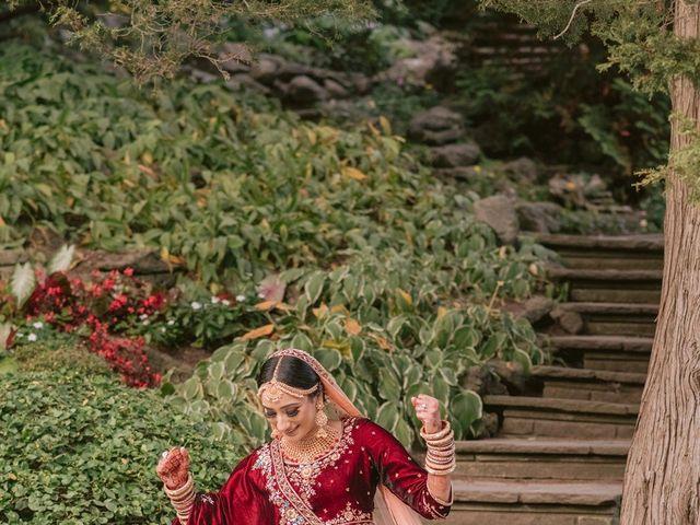 Zohra and Hamza's wedding in Markham, Ontario 28