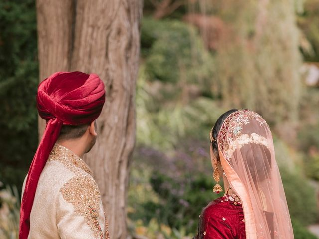 Zohra and Hamza's wedding in Markham, Ontario 30