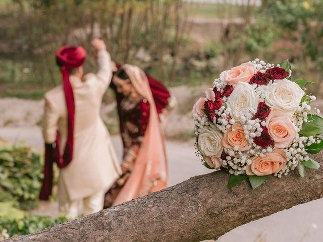 Zohra and Hamza's wedding in Markham, Ontario 31