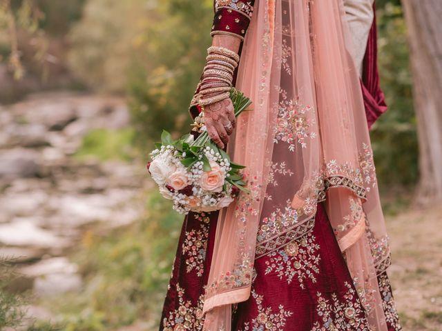 Zohra and Hamza's wedding in Markham, Ontario 32