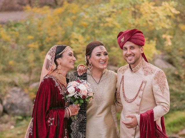 Zohra and Hamza's wedding in Markham, Ontario 33
