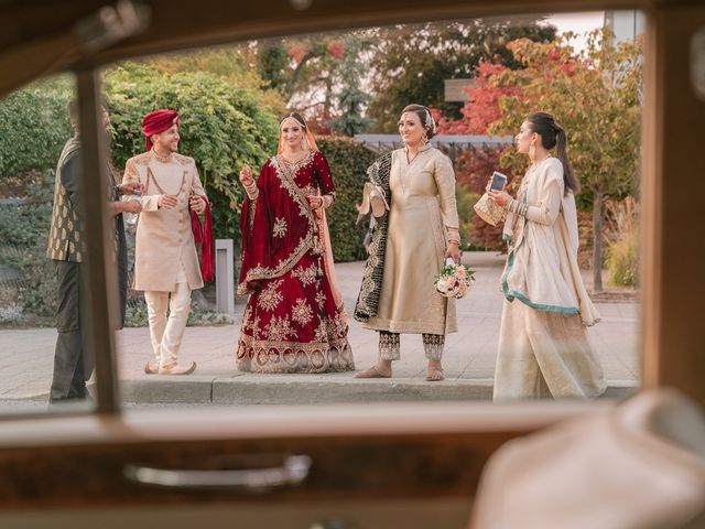 Zohra and Hamza's wedding in Markham, Ontario 35