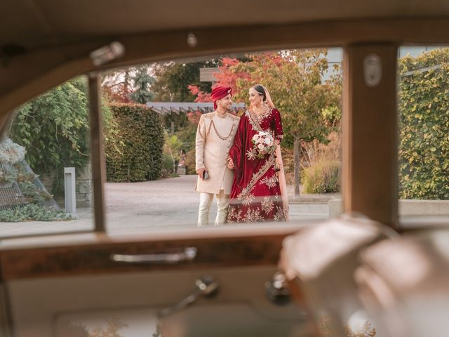 Zohra and Hamza's wedding in Markham, Ontario 36
