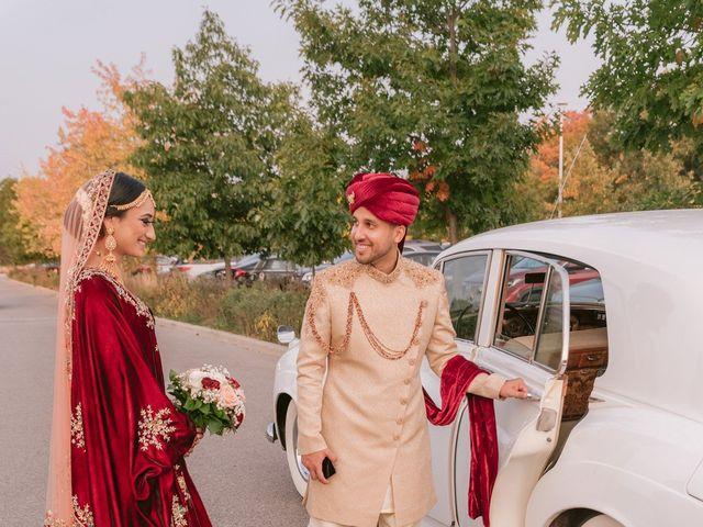 Zohra and Hamza's wedding in Markham, Ontario 37