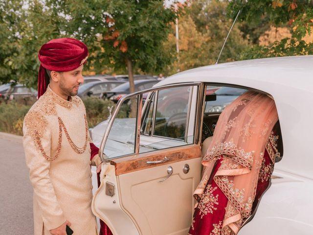 Zohra and Hamza's wedding in Markham, Ontario 38