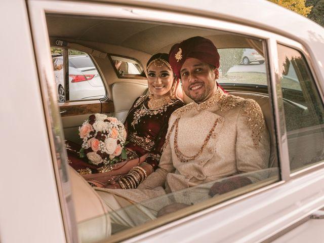 Zohra and Hamza's wedding in Markham, Ontario 40