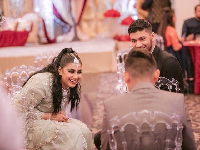 Zohra and Hamza's wedding in Markham, Ontario 52