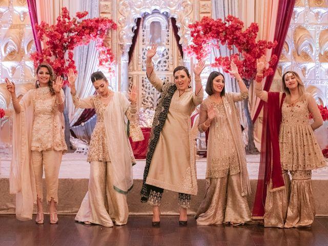 Zohra and Hamza's wedding in Markham, Ontario 60