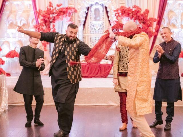 Zohra and Hamza's wedding in Markham, Ontario 64