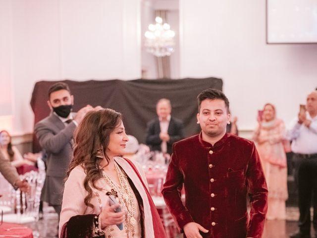 Zohra and Hamza's wedding in Markham, Ontario 70