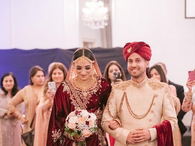 Zohra and Hamza's wedding in Markham, Ontario 74