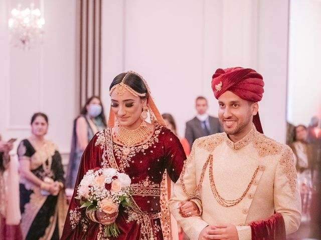 Zohra and Hamza's wedding in Markham, Ontario 77