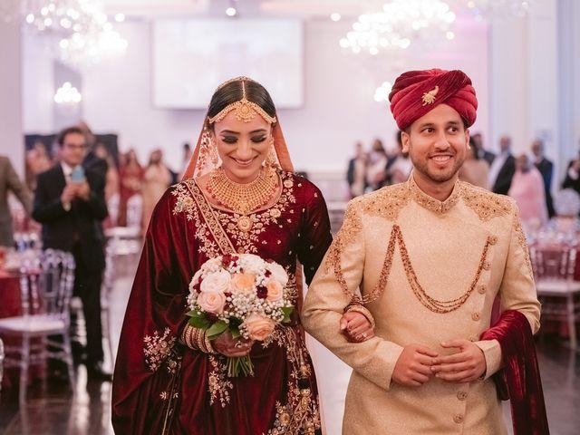 Zohra and Hamza's wedding in Markham, Ontario 78