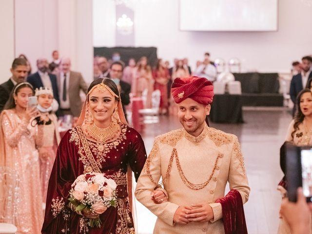 Zohra and Hamza's wedding in Markham, Ontario 79