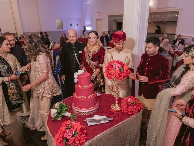 Zohra and Hamza's wedding in Markham, Ontario 81