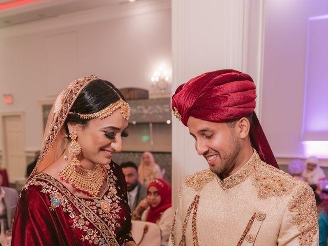 Zohra and Hamza's wedding in Markham, Ontario 82