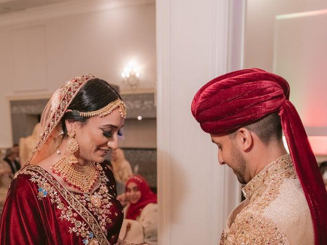 Zohra and Hamza's wedding in Markham, Ontario 83