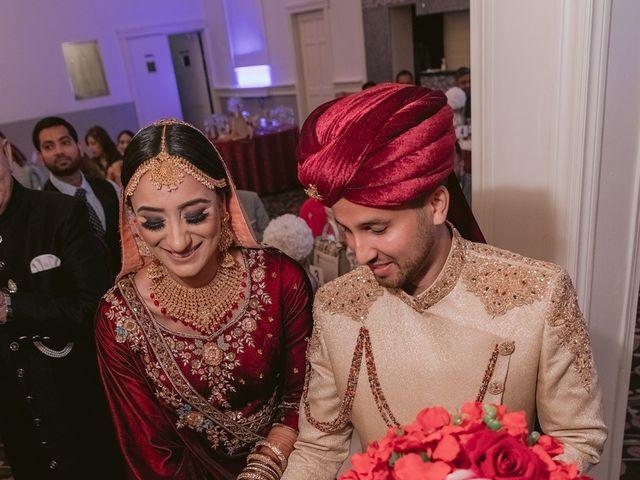Zohra and Hamza's wedding in Markham, Ontario 85