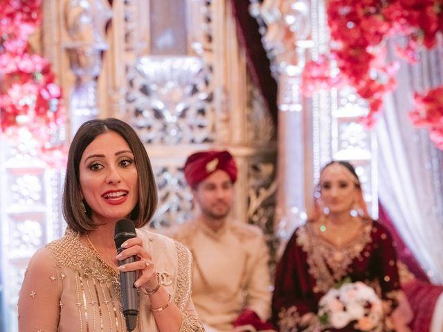 Zohra and Hamza's wedding in Markham, Ontario 90
