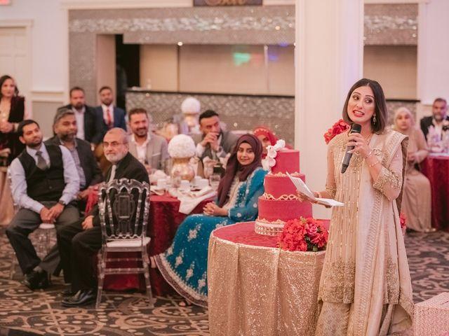 Zohra and Hamza's wedding in Markham, Ontario 92