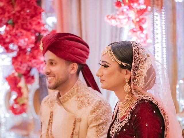 Zohra and Hamza's wedding in Markham, Ontario 93