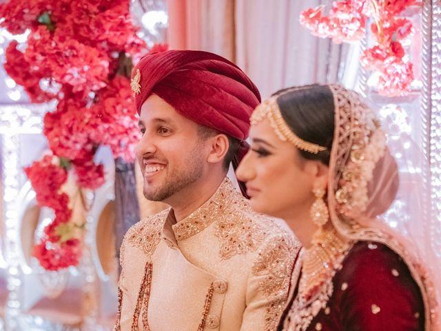 Zohra and Hamza's wedding in Markham, Ontario 94