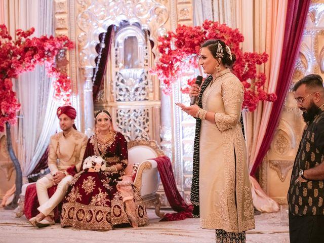 Zohra and Hamza's wedding in Markham, Ontario 99