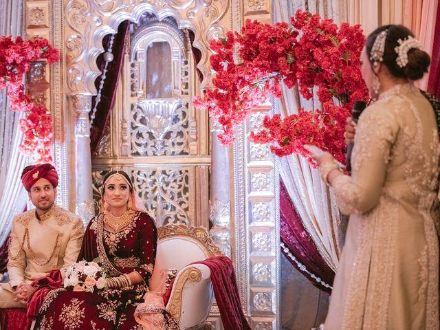 Zohra and Hamza's wedding in Markham, Ontario 100