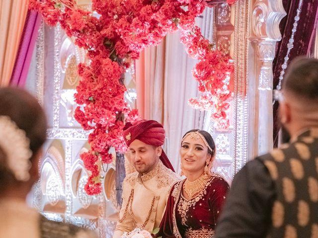 Zohra and Hamza's wedding in Markham, Ontario 102