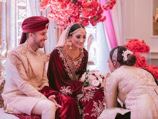 Zohra and Hamza's wedding in Markham, Ontario 103