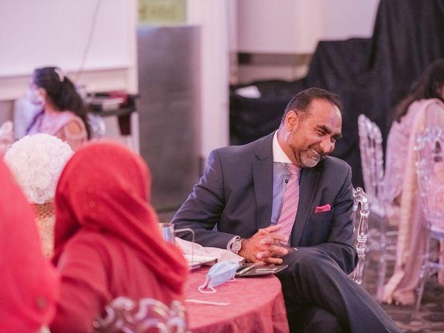 Zohra and Hamza's wedding in Markham, Ontario 110