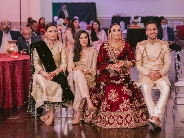 Zohra and Hamza's wedding in Markham, Ontario 114