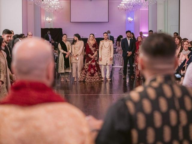 Zohra and Hamza's wedding in Markham, Ontario 115