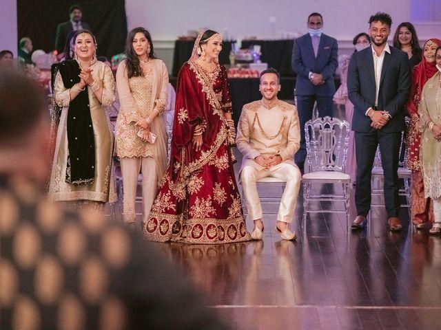 Zohra and Hamza's wedding in Markham, Ontario 116